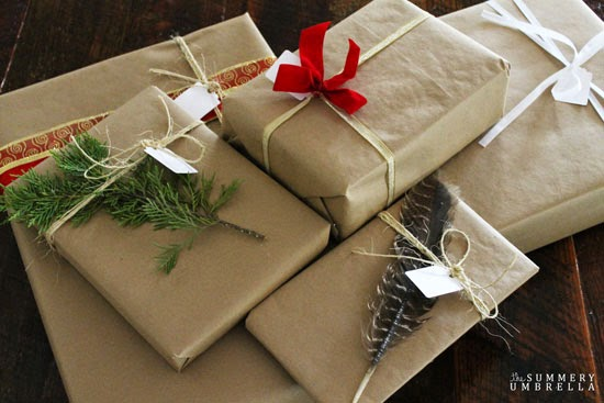 Are you looking for Rustic Holiday Gift Wrapping Ideas? You won't want to miss out on this post that shows you how!